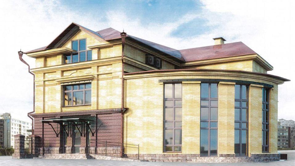 В центре Челябинска предприниматель строит к ШОС стилизованный «под старину» особняк 5