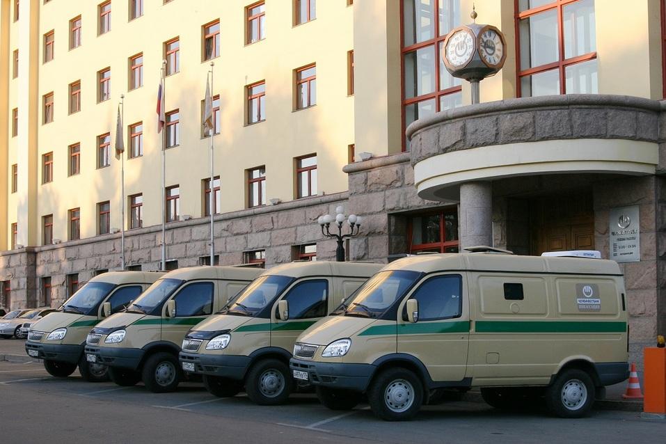 Служба инкассации челябинского банка отметила 25 лет работы 1