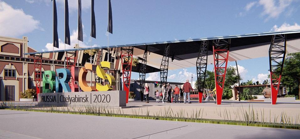 Кафе в трамвае и зеркальный навес: набережную в центре Челябинска превратят в арт-объект 3