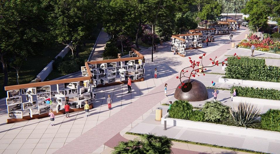 Кафе в трамвае и зеркальный навес: набережную в центре Челябинска превратят в арт-объект 6