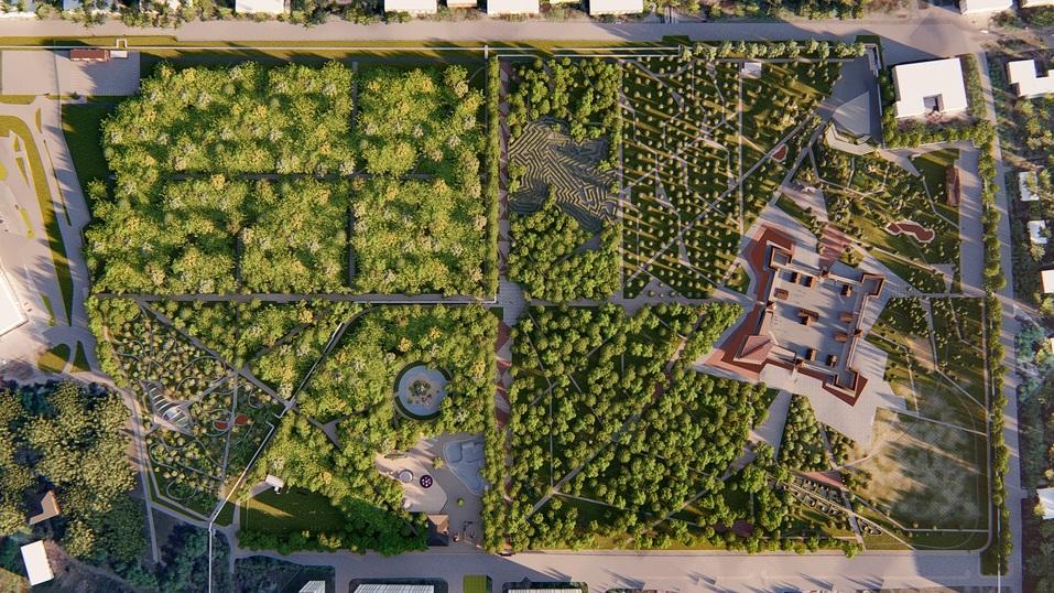 Железная дорога, площадка для собак и Челябинск в миниатюре: как изменится Плодушка 1