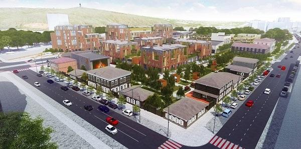 Вместо бараков на ул. Лебедевой и ул. Республики предлагают построить «Цветочный квартал» 1