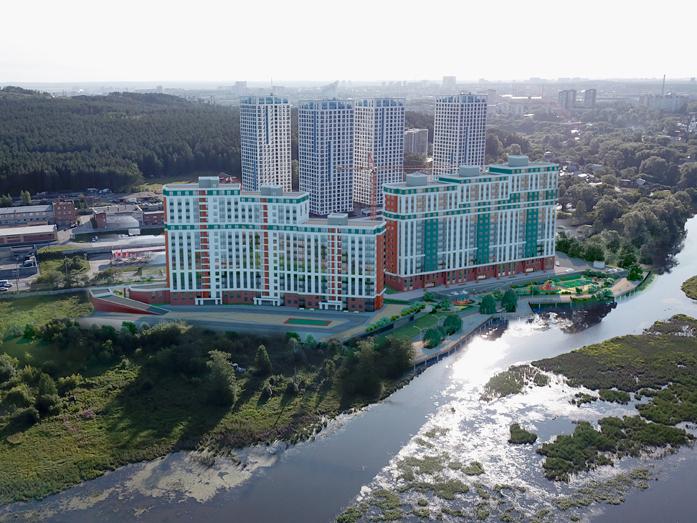 Екатеринбург нецентральный: как развивается юг города — новостройки в цифрах 9