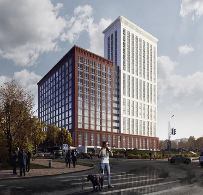 Новый формат недвижимости. В центре Нижнего Новгорода построят 19-этажные апартаменты  1