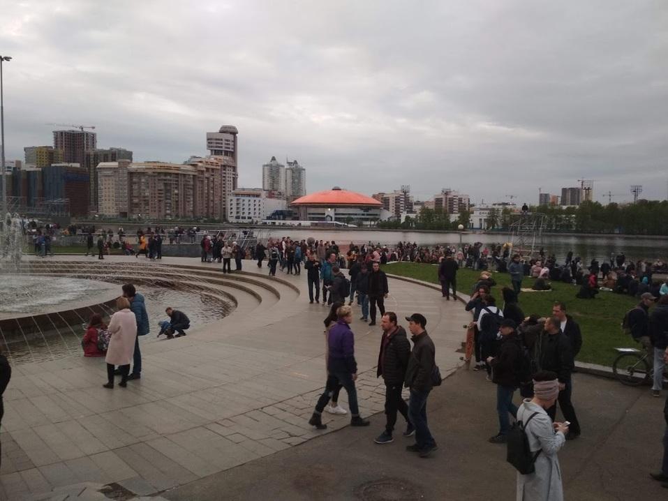 Высокинский, Ройзман, приостановка стройки. Итоги четвертого дня протестов у Драмтеатра  1