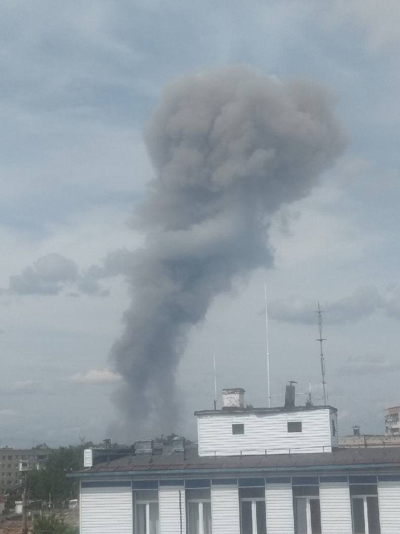 ЧП в Дзержинске: на заводе произошел взрыв 4