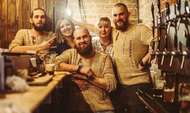 Команда скандинавского паба