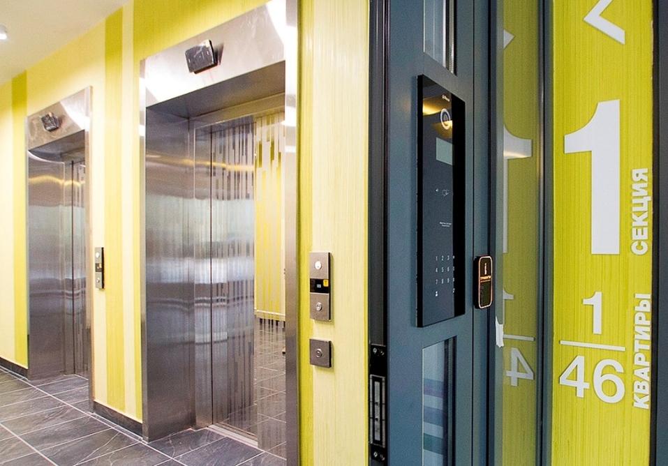 Высокоскоростные лифты КONE c продуманной логистикой