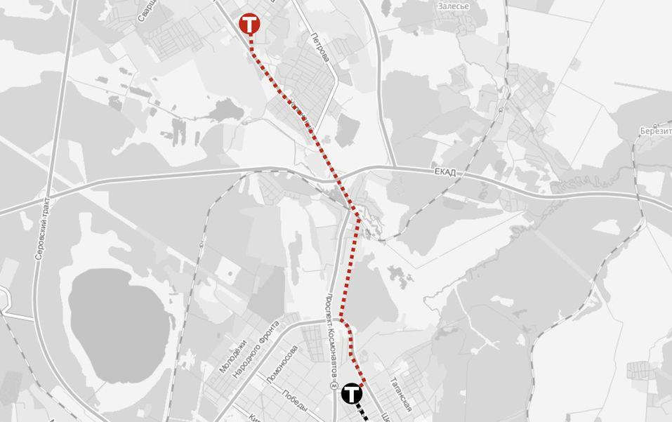 Все будет. Но не сразу. Карта новых дорог, детских садов и школ Екатеринбурга 5
