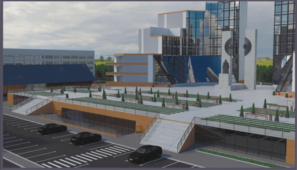 Памятник хотят поднять, чтобы возвысить над проспектом Ленина
