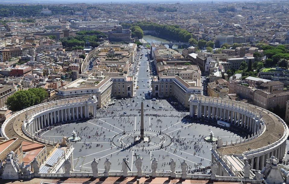 Так выглядит площадь в Риме, которой вдохновился автор проекта
