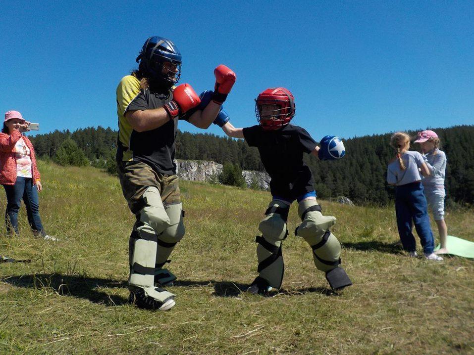 Тренировка по боевым искусствам