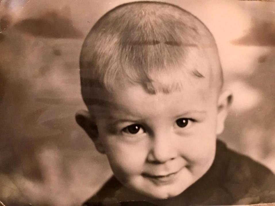 Леонид Гункевич в детстве