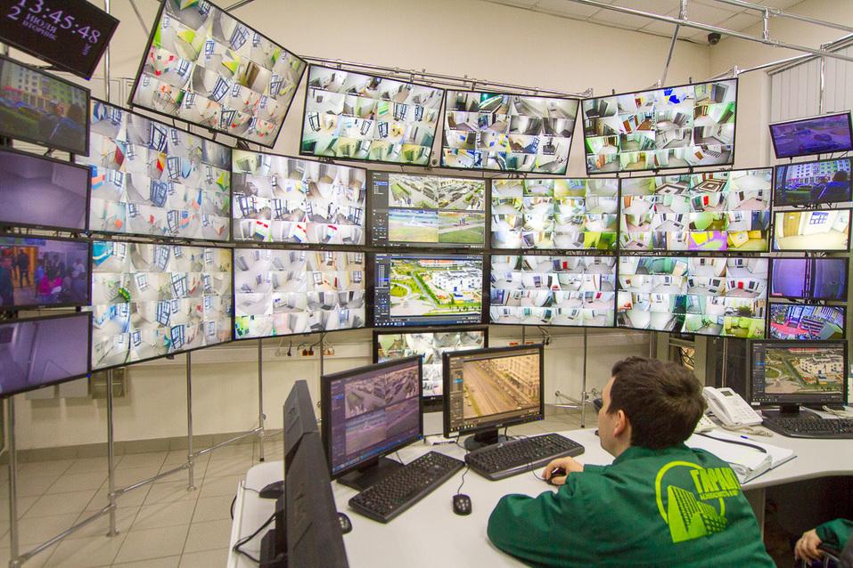 Система видеонаблюдения за районом