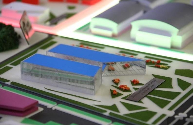 Так будет выглядеть дворец водных видов спорта