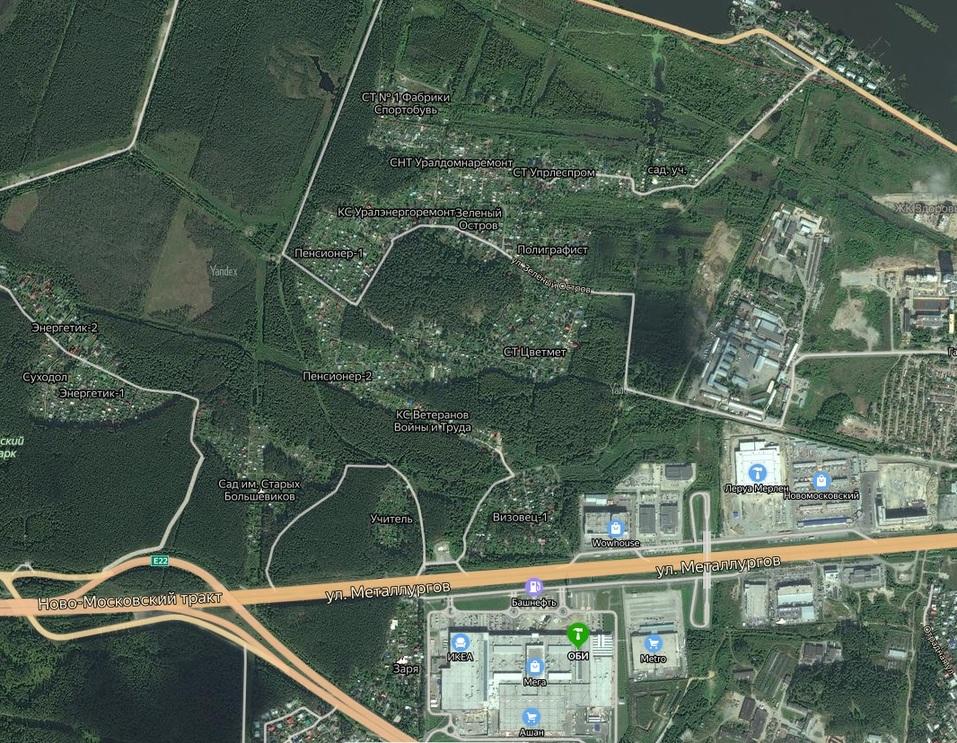 Лакомые земли. В Екатеринбурге изымают садовые участки для строительства района-гиганта 1