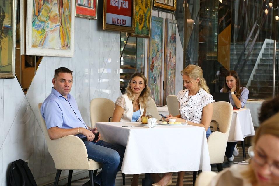 Как прошел бизнес-завтрак «Делового квартала»? Фотоотчет 11