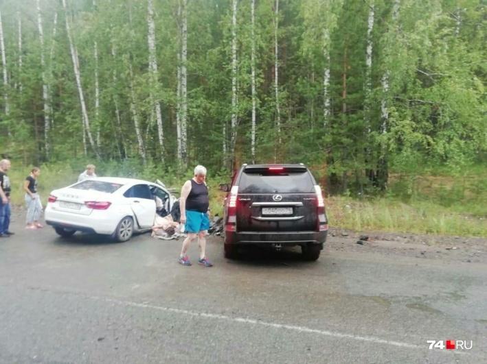 СМИ: Андрей Косилов попал в аварию на дороге в Челябинской области  1