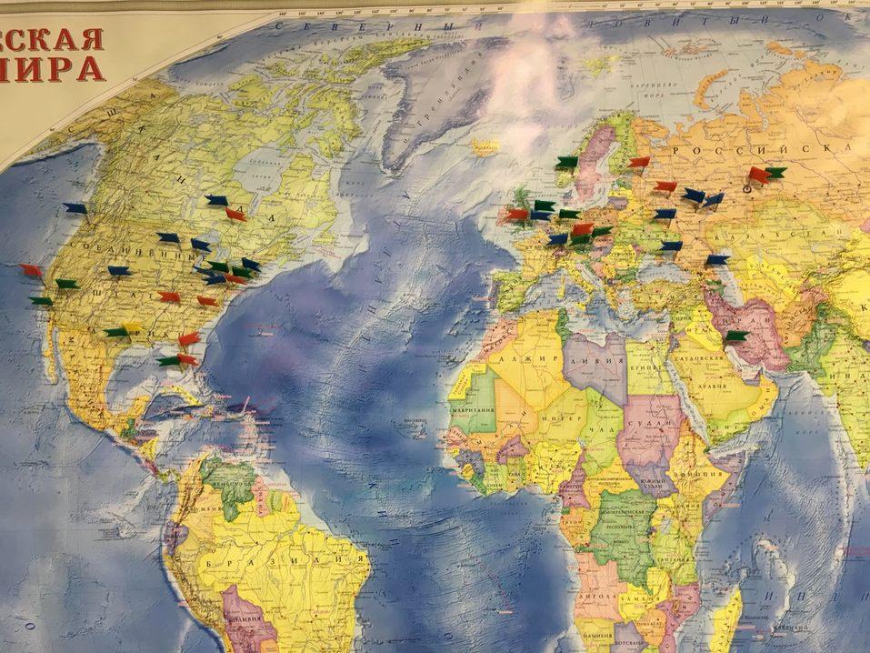 Карта заказов Dirtcustoms