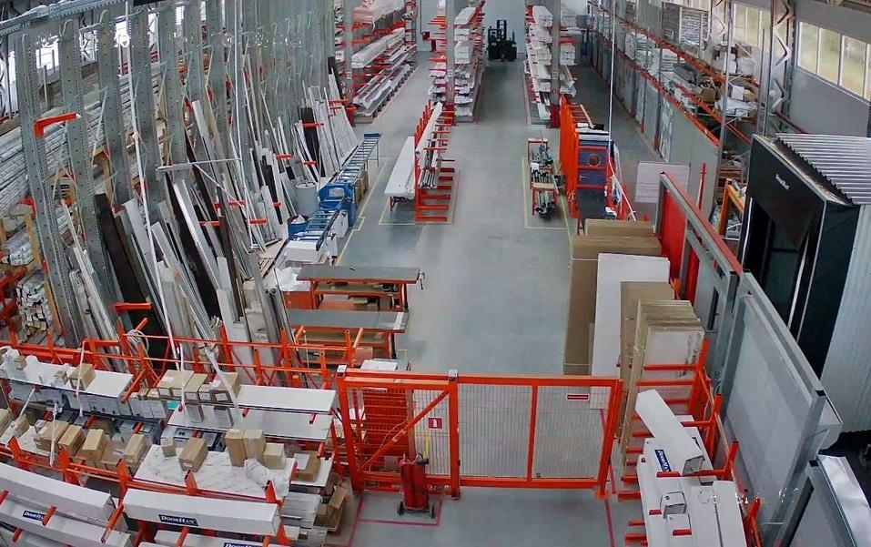 Строящаяся производственная площадка в Нижнем Новгороде