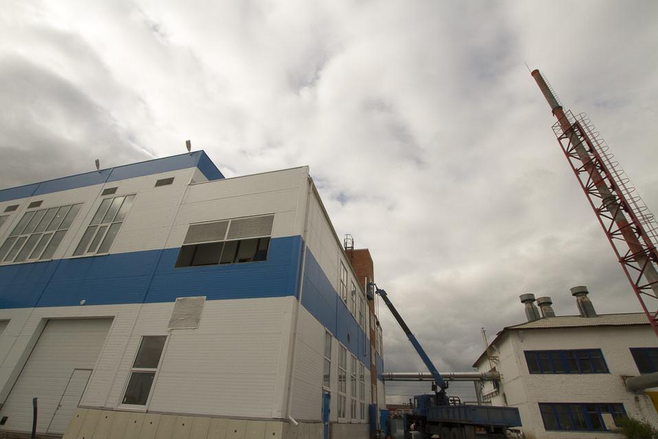 Здание нового завода