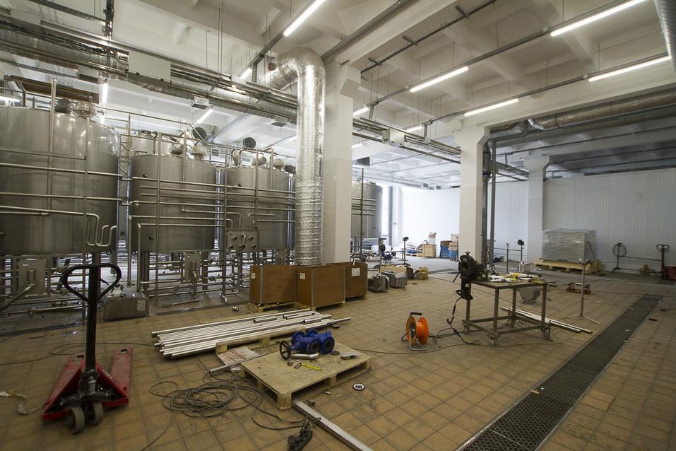 Оборудование нового завода