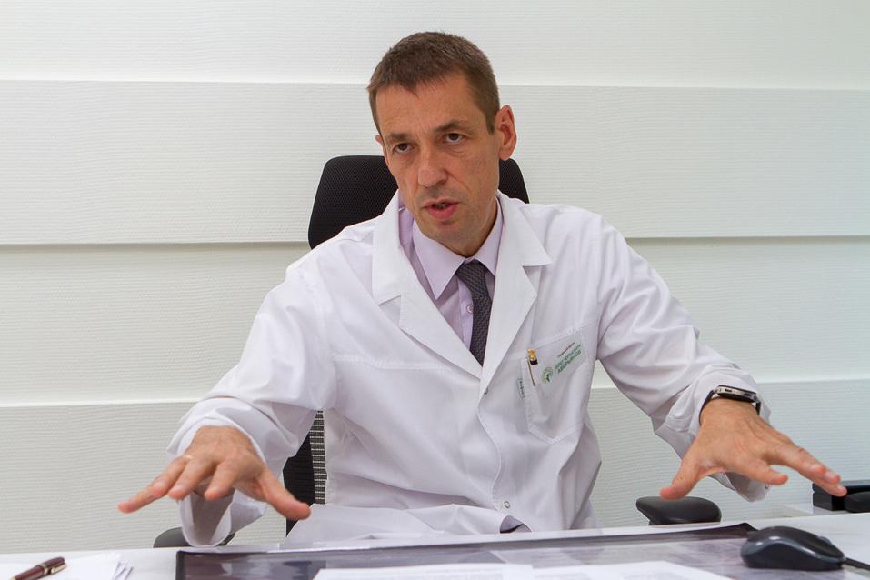 «Они нам конкуренты». Главный врач ОДКБ — о частных роддомах, молодых врачах и бизнесе  1