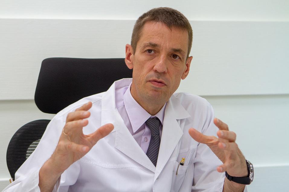 «Они нам конкуренты». Главный врач ОДКБ — о частных роддомах, молодых врачах и бизнесе  4