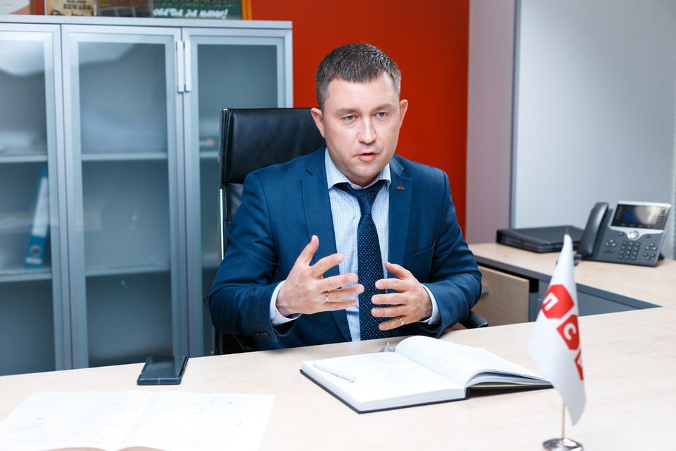 Руслан Музафаров, коммерческий директор Группы ЛСР на Урале