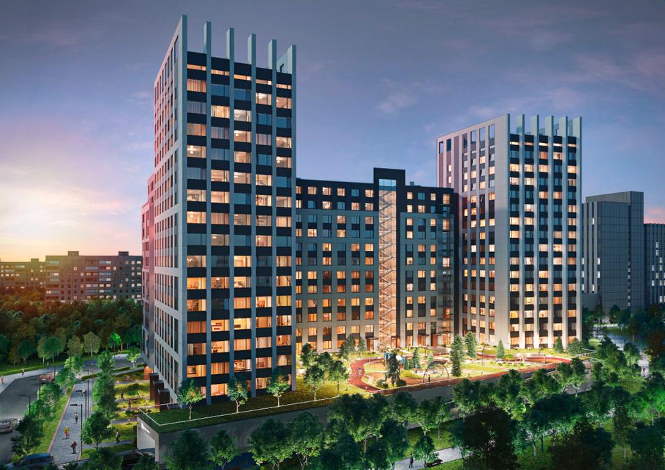 Геометрия расположена в Парковом микрорайоне. Срок сдачи намечен на 4 квартал 2020 г.