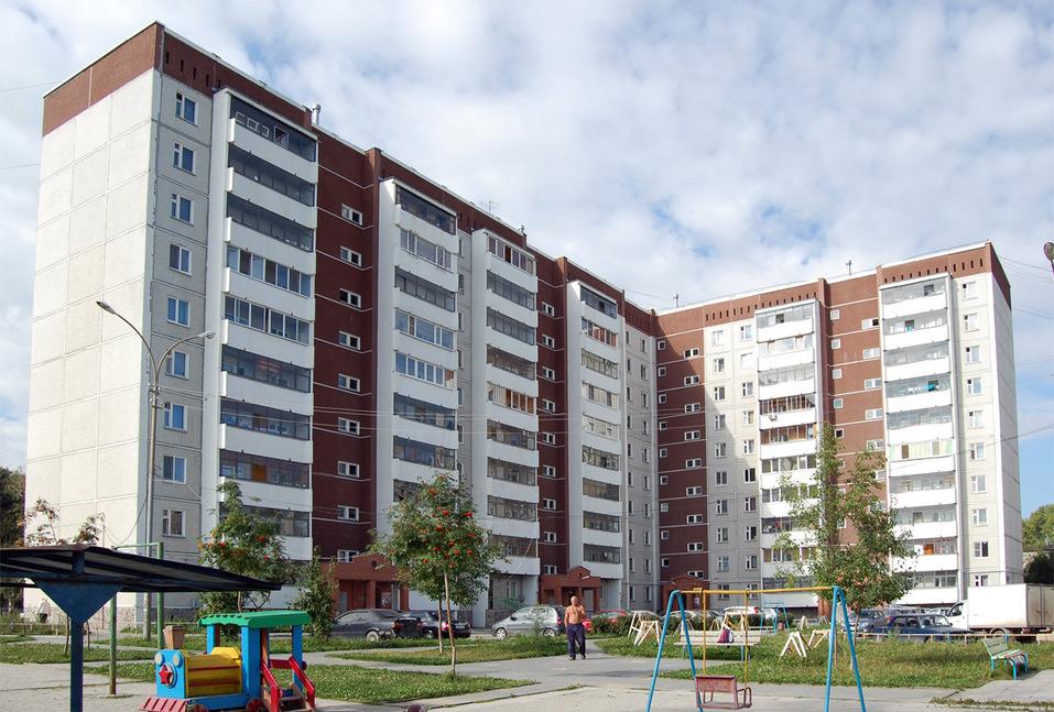 Жилой дом на ул. Атмосферная, 11 в Кольцово
