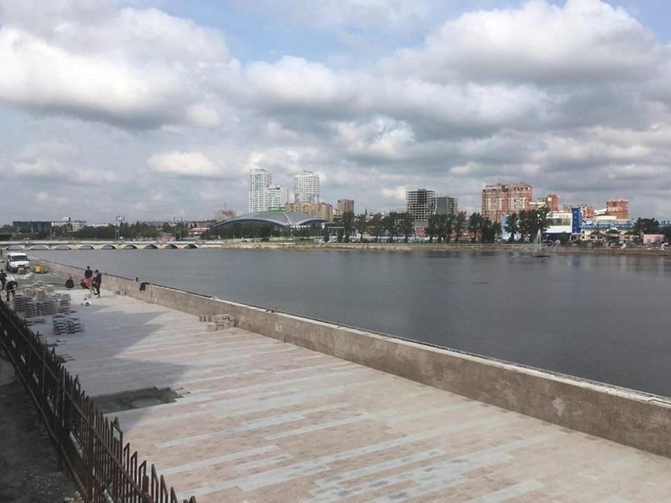 «Выходов к воде не будет». В Челябинске начали делать набережную. ФОТО 1