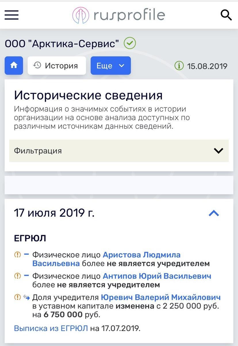 Бывший губернатор Челябинской области забрал у Аристова и Антипова долю в бизнесе 1