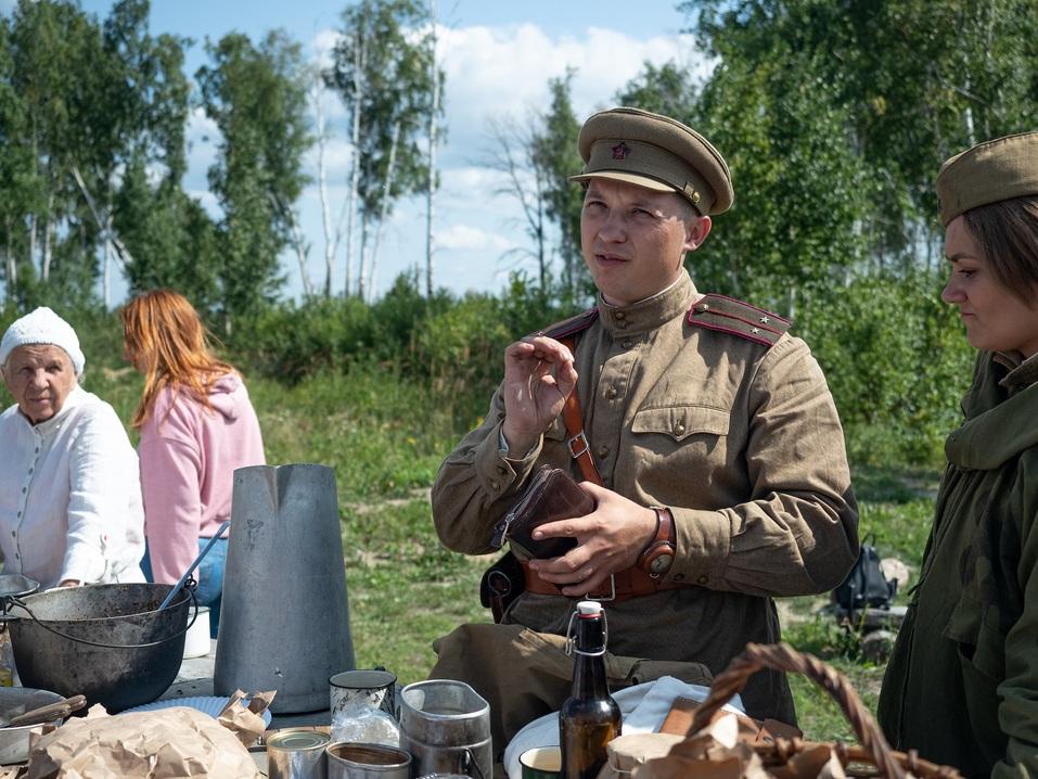 Под Челябинском построили укрепрайон времён Великой Отечественной войны 1