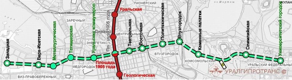 «В год по 30 млрд. руб.». Екатеринбургу пообещали вторую ветку метро к 2025-2027 году 1