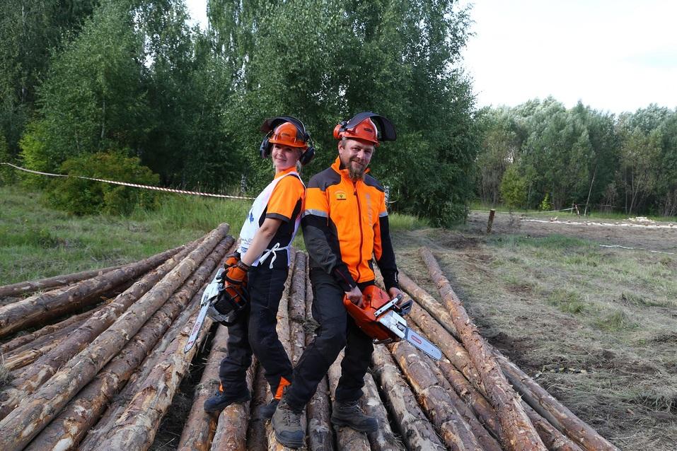 «Брутально, мужественно и красиво». Как лесорубы соревновались под Нижним Новгородом. ФOTO 9