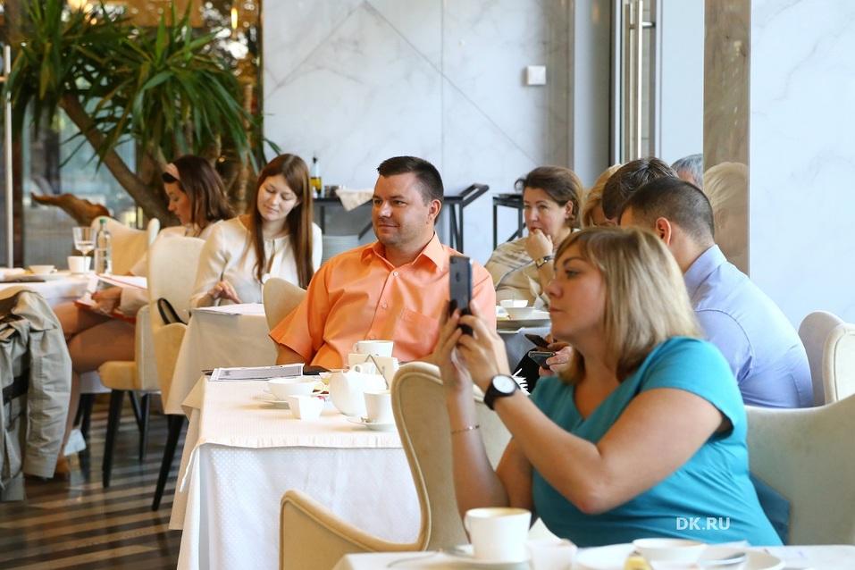 Типы продажников, digital-маркетинг и налоги. О чем говорили на бизнес-завтраке DK? 9