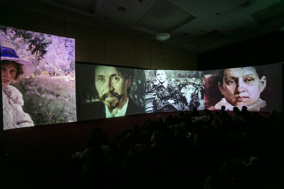 Мультимедийная выставка «Серов. Свет и тени»