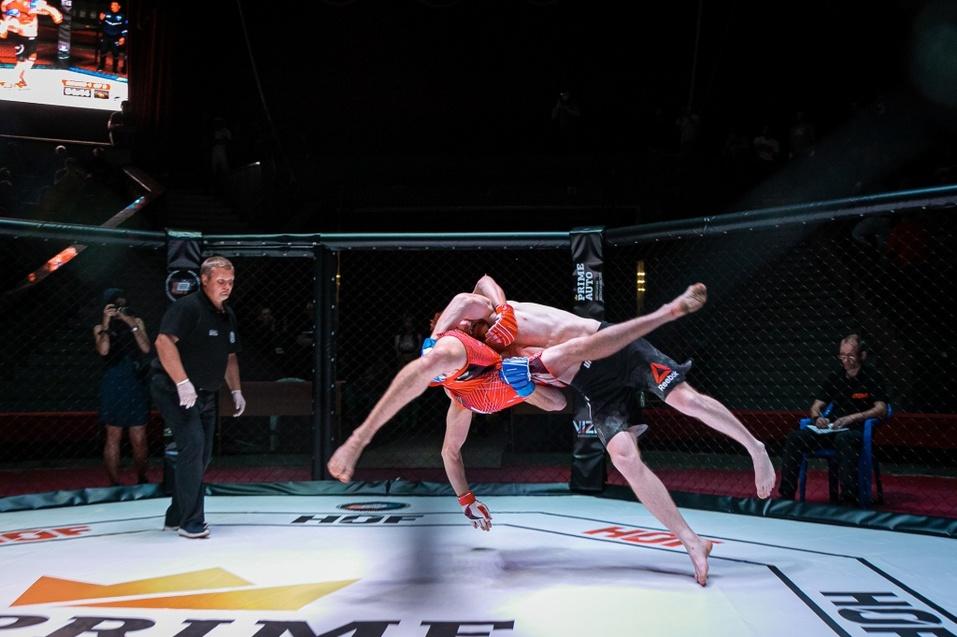 8 сентября прошел очередной турнир по ММА «Hall of Fame» в Новосибирске 8