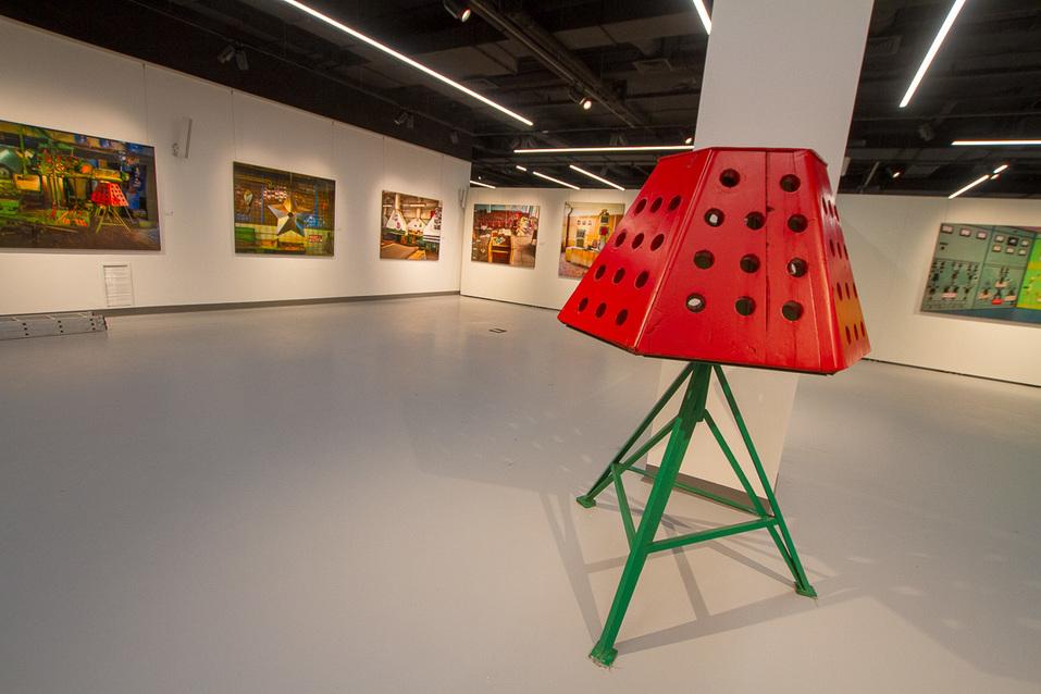 Выставка Саши Генциса