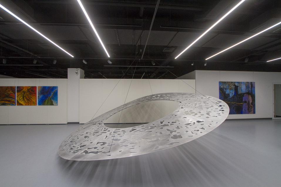 Выставка Бернара Гаро