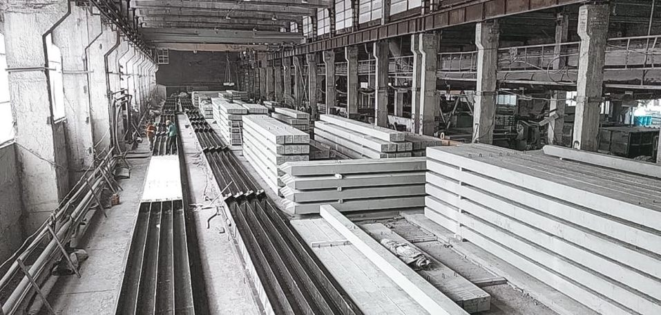 Продукция завода ЖБИ Нейва