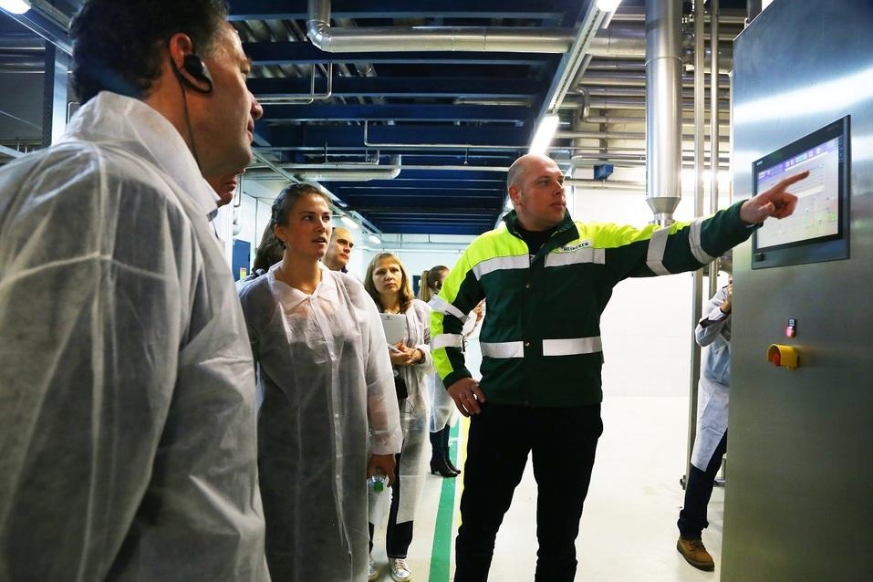 Как работает пивоварня Heineken  в Нижнем Новгороде. Фоторепортаж 3