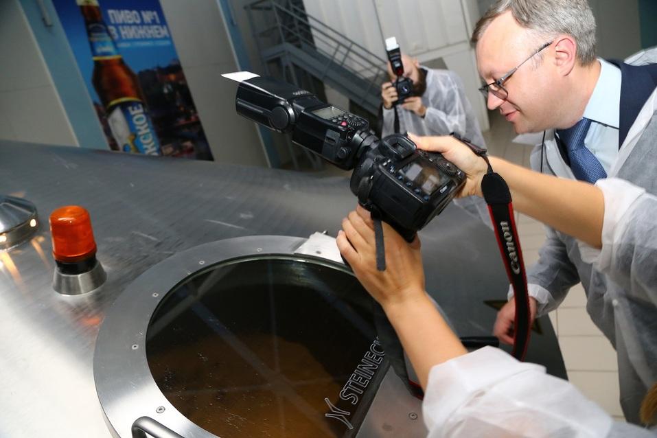 Как работает пивоварня Heineken  в Нижнем Новгороде. Фоторепортаж 7