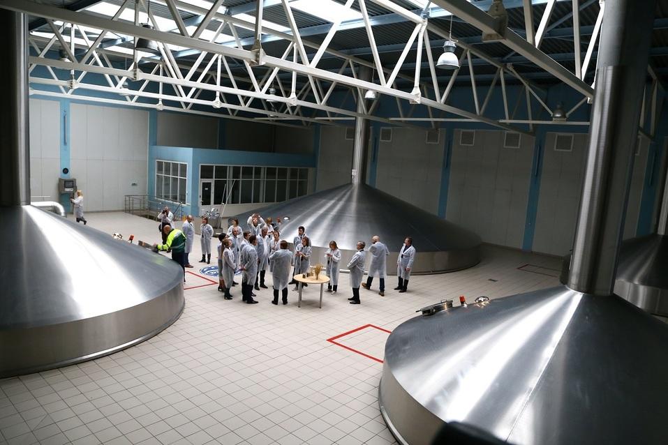 Как работает пивоварня Heineken  в Нижнем Новгороде. Фоторепортаж 8
