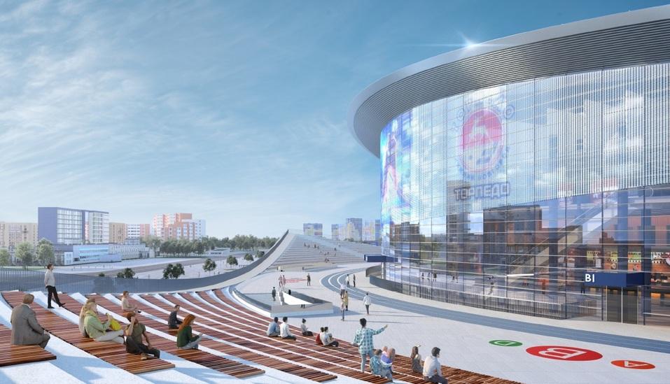 Ледовый дворец «подрос». Новую спортивную арену на Стрелке сделают пятиэтажной 2