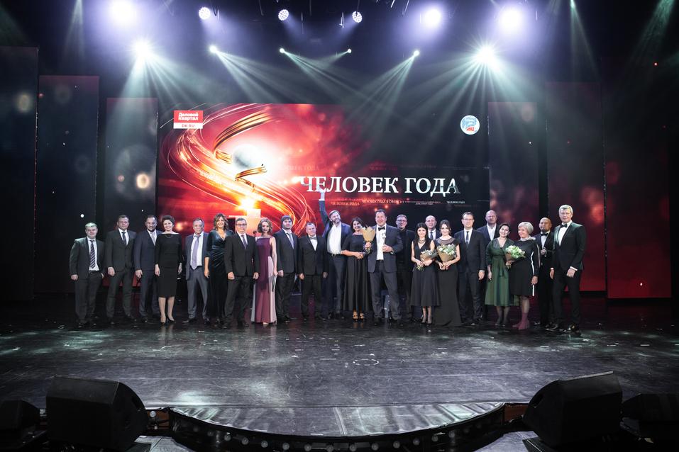 Вперед в будущее. Как в Екатеринбурге вручали премию «Человек года — 2019» / РЕПОРТАЖ 32