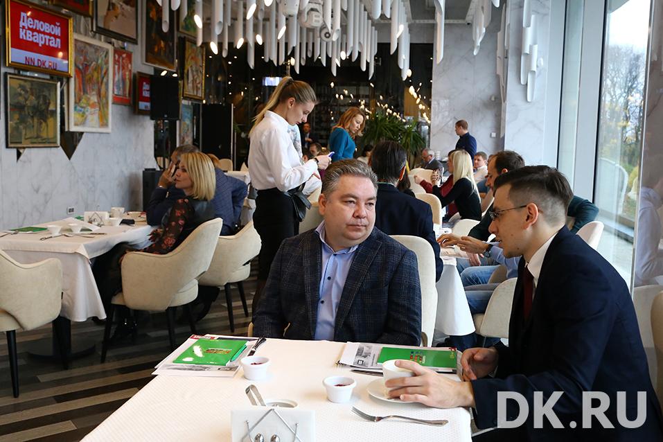 Сильные кадры, инвестиции и управленческий учет. О чем говорили на бизнес-завтраке DK 10