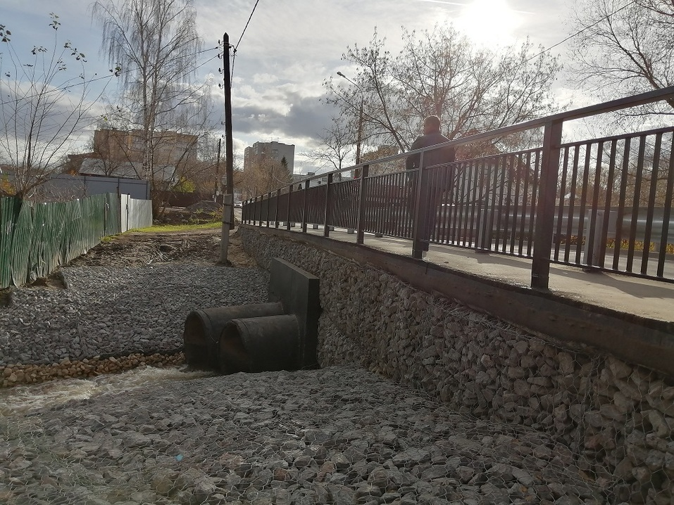 Мост через реку Левинку отремонтировали   1