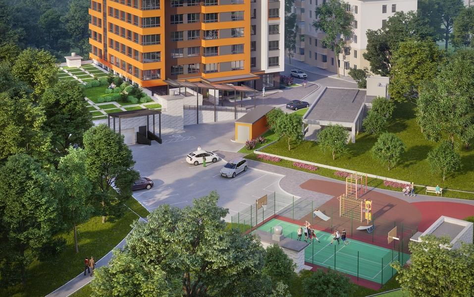 «Маленькая Швейцария в центре Екатеринбурга». В городе строят экологичный электродом 2